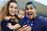 Carlos & Alexa PenaVega with their son Ocean King ...
