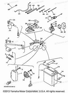 Yamaha Atv 1998 Oem Parts Diagram For Electrical