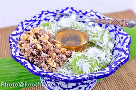 cracker the settee script rice cake with coconut syrup and rice cracker kanom