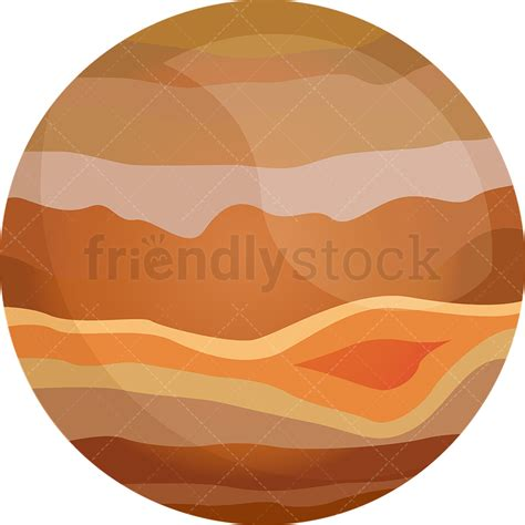 jupiter clipart planet jupiter vector clipart friendlystock