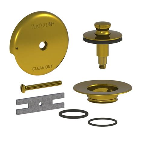 bathtub drain stopper removal lift and turn watco quicktrim lift and turn bathtub stopper and 1