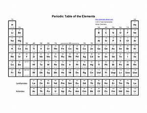5 Best Images of Printable Periodic Table With Mass And ...