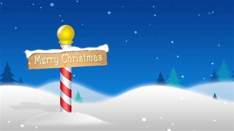 Santa S Workshop Wallpaper Animated - pole background loop animation with merry