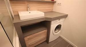 meuble de salle de bain avec lave linge atlantic bain With meuble salle de bain machine a laver