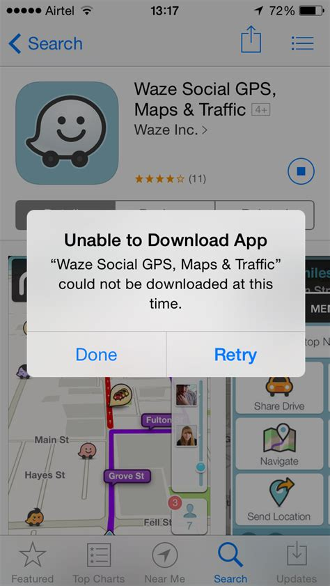 unable to app iphone ios appstore quot unable to app quot on ios 7 1 1 ask