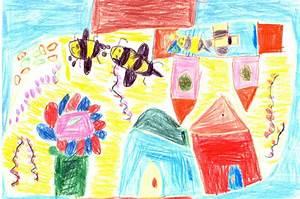 Image D Enfant : dessins d 39 enfants sur les abeilles octobre 2017 tigoo miel ~ Dallasstarsshop.com Idées de Décoration