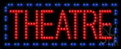 theatre animated led sign entertainment led signs