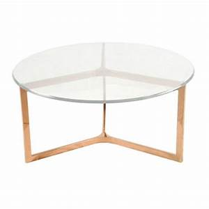 best round gold coffee table products on wanelo With rose gold round coffee table