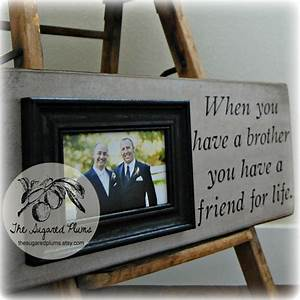 best man brother gift personalized picture by thesugaredplums With best wedding gift for brother