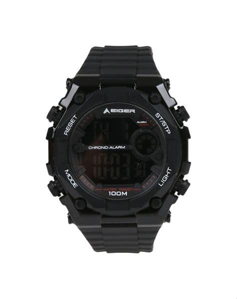 jual tali jam eiger iyw0090 black di lapak superior watch farhan alirasyiddan