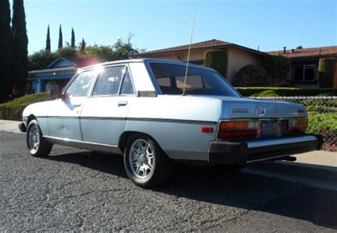 Peugeot 604 For Sale by Flagship 1982 Peugeot 604 Turbo Bring A Trailer