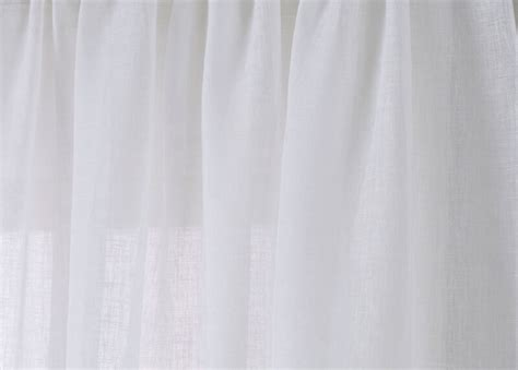 white linen sheer fabric   yard ethan allen