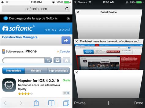 safari browser for android on with ios 7 beta miscellaneous softonic