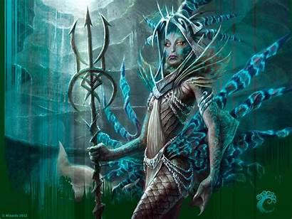 Magic Gathering Mermaid Trident Wallpapers Mtg Mermaids