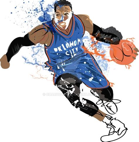 Russell Westbrook By Char0077 On Deviantart