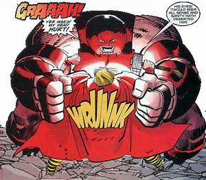 Red Hulk and Juggernaut vs Silver Surfer and Thor ...