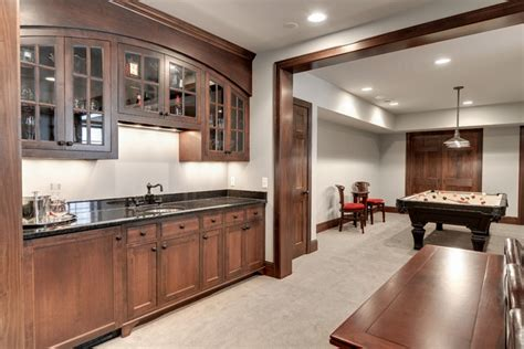 pictures of kitchen cabinets modern bungalow traditional basement minneapolis 7482
