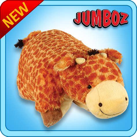 jumbo pillow pets authentic pillow pets jolly giraffe 30 quot jumboz