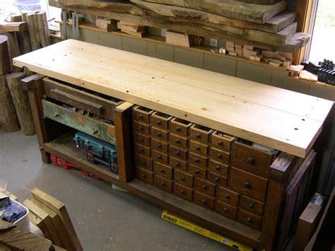 sauer steiner shaker bench restoration  home stretch