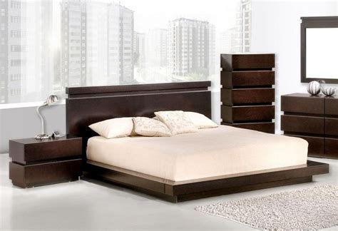 wooden beds with storage high class wood platform and headboard bed new orleans Modern
