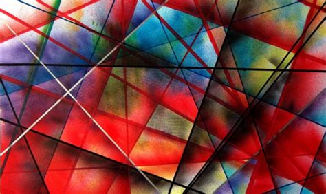 Abstract Geometric Shapes In by 40 Aesthetic Geometric Abstract Paintings Bored