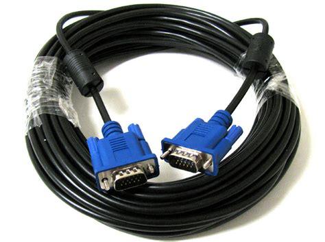 Feet Pin Svga Vga Lcd Led Monitor Blue Cable