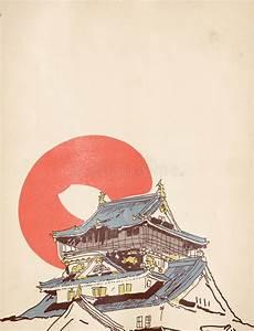 Maison Japonaise Dessin : dessin japonais de maison illustration stock illustration du asie 34613318 ~ Melissatoandfro.com Idées de Décoration