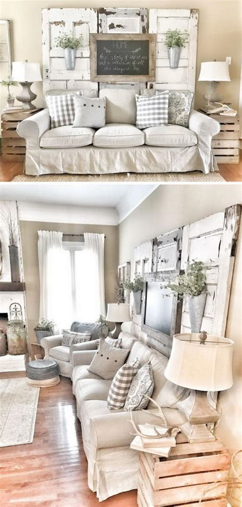 I love how much curtains can change the décor in a room. 40 Rustic Wall Decor DIY Ideas 2017