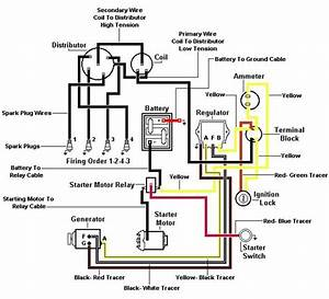 Ford Jubilee 6 Volt Wiring Diagram