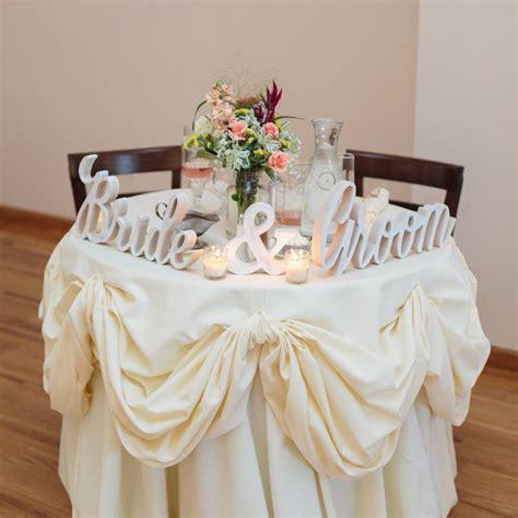 quot bride groom quot wedding signs z create design