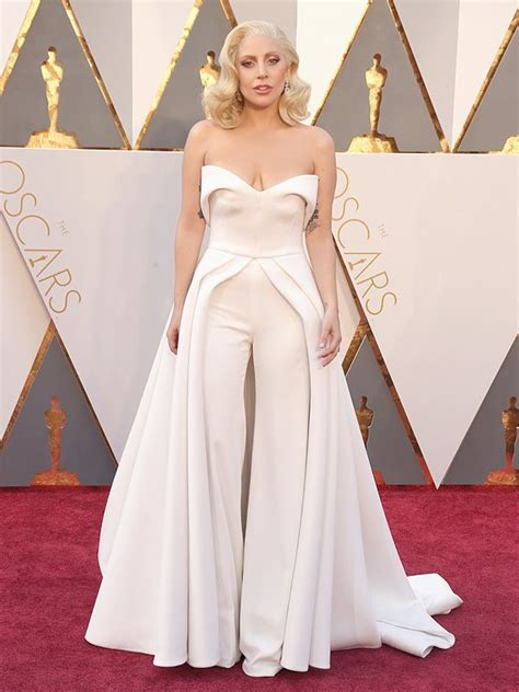 Lady Gaga Best Friend Designed Her Oscars Gown Suit