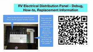 Rv Electrical Power Distribution Panel