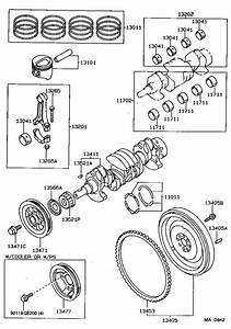 1990 Toyota Tercel Guide  Timing Belt  Engine