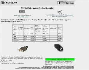 Wiring Diagram For Ps2 Controller To Usb