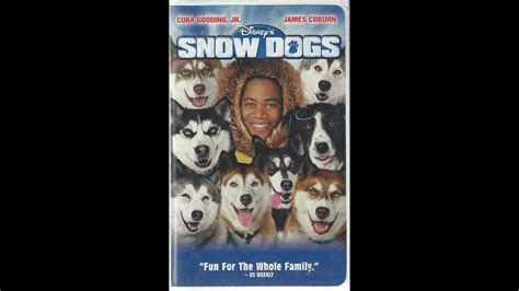 opening  snow dogs  vhs youtube