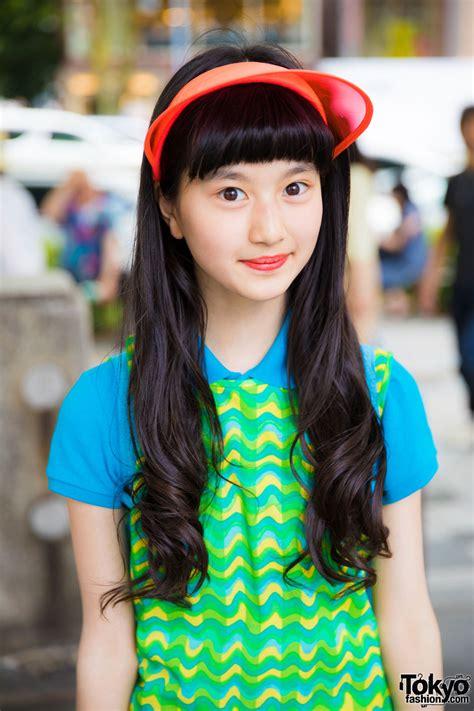 Harajuku Actress Colorful Sporty Chic Fashion w/ Ralph ...