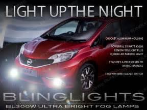 2014 2015 2016 Nissan Versa Note Fog Lamps Driving Lights