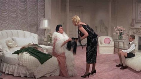 auntie mame rosalind russells  changing apartment