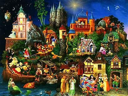 Fairy Tales Characters Doina Touching Hearts