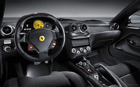ferrari  gto interior wallpaper hd car