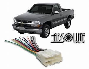 Buy Stereo Wire Harness Chevrolet Silverado Pickup 99 00