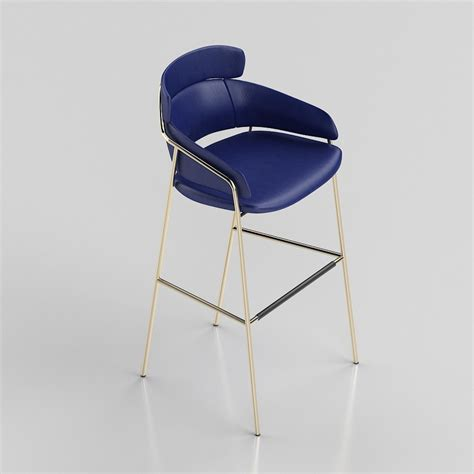 cherner side chair and armchair 3d model 3d strike barstool debilab high quality 3d models