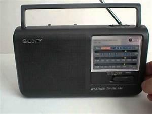 Poste Radio Sony : sony radio icf 36 youtube ~ Maxctalentgroup.com Avis de Voitures