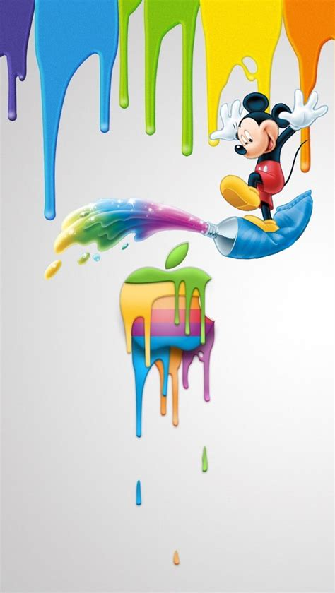 Disney Wallpaper Apple by обои Iphone Wallpapers Mickey Mouse Wallpapers Disney