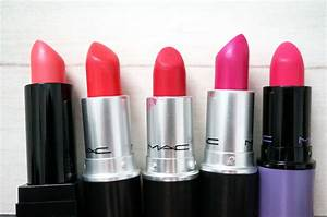 My MAC Lipstick Collection - The Brights - Thou Shalt Not ...