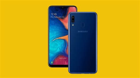 samsung galaxy a20 now official noypigeeks