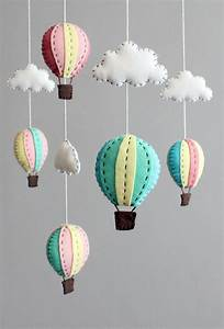 Diy Baby Mobile Kit Make Your Own Hot Air Balloon By