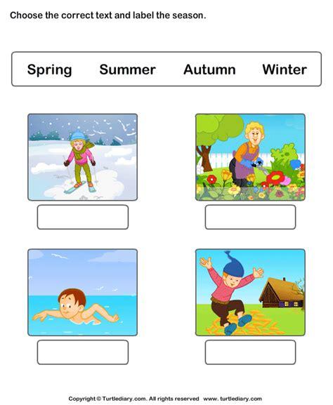 seasons of the year worksheets worksheet turtle diary