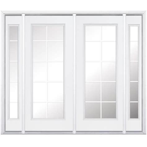 masonite patio doors image masonite 96 in x 80 in prehung right inswing 10