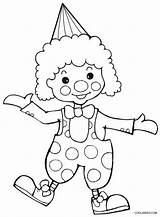 Clown Coloring Pages Printable Cool2bkids sketch template